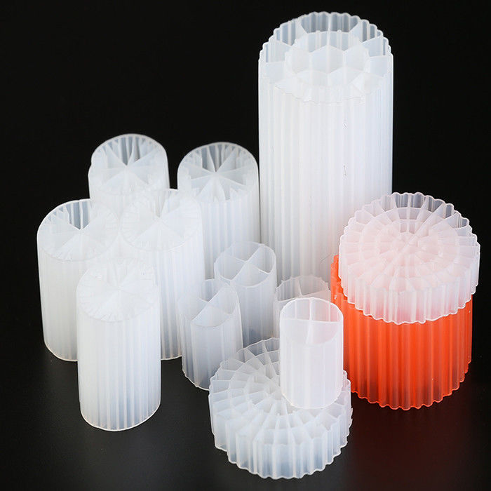 Eco Friendly Virgin HDPE Floating Filter Media Lower Energy Consumption