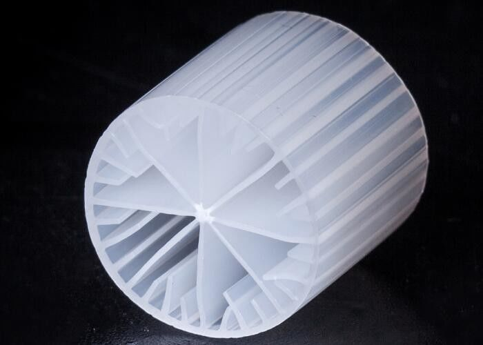 Fish Pond Virgin HDPE Biocell Filter Media White Color Good Surface Area
